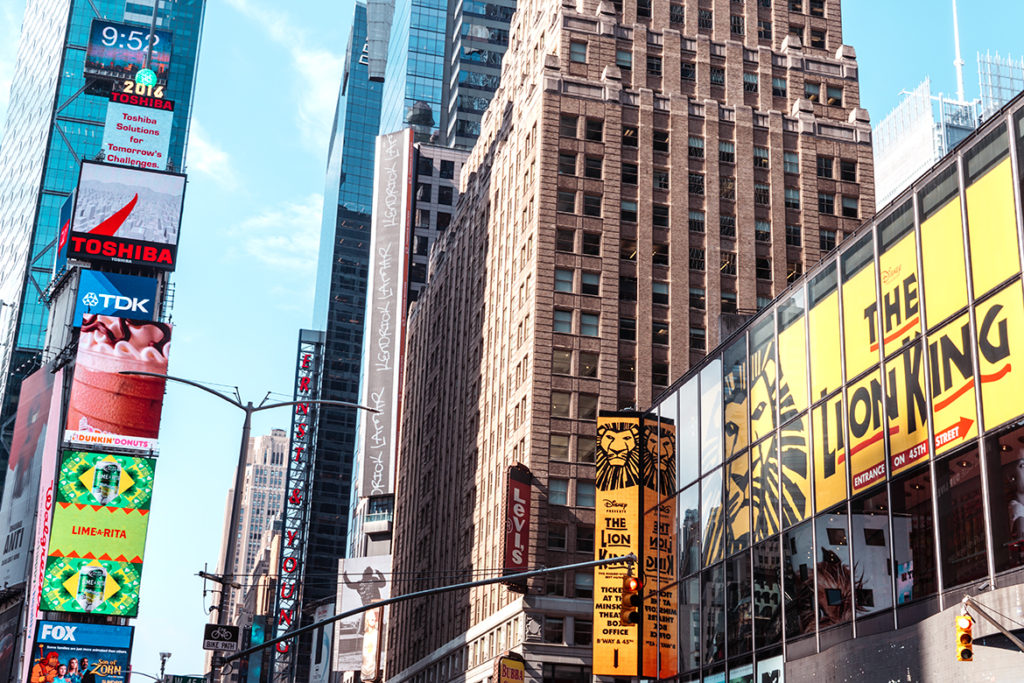 Times Square, Broadway