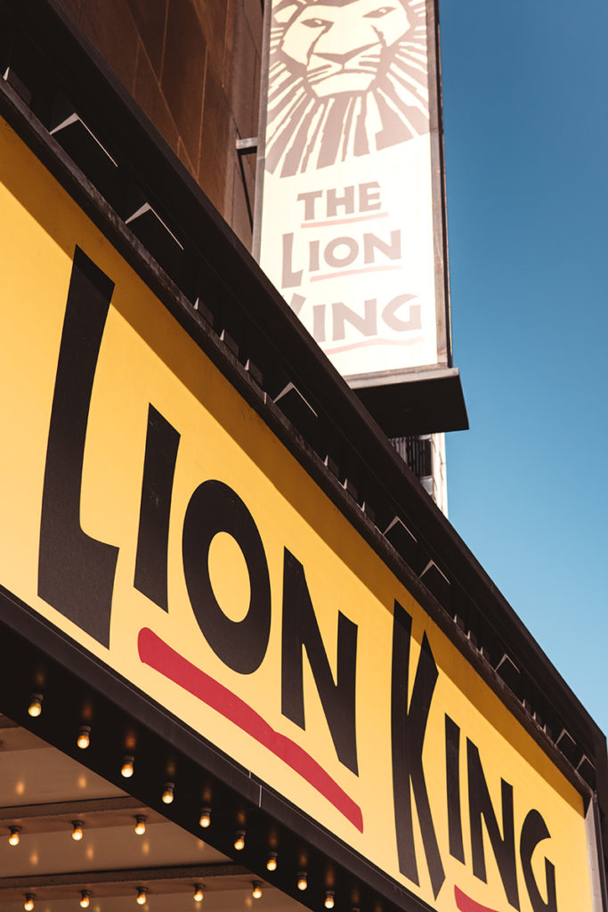 The Lion King, Broadway